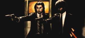 Pulp Fiction - Drawing by Atompilz94
