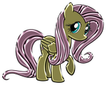 Fluttershy Chrome by DuskBrony