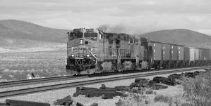 BNSF 4754 at Ash Hill by photogatlarge