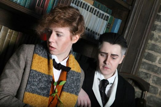 Newt Scamander and Percival Graves cosplay II by MigraineSky