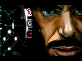 Tony Stark - Iron man by Aquila--Audax