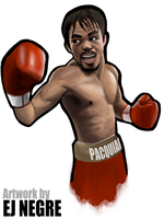 Pacquiao Illustration by EJ2letters