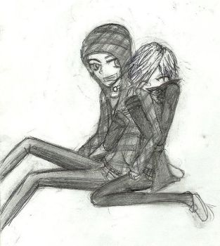 me and my bf by Anju387