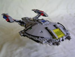 Lego Nova Class Star Trek Ship by xenocryst