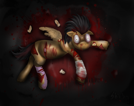 Cry in agony by Shiv3ry