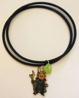Loki of Asgard bangles set by Lovelyruthie