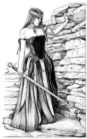 Queen Guinevere by DocRedfield