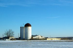 RURAL - Silos by pepsipepsibaby