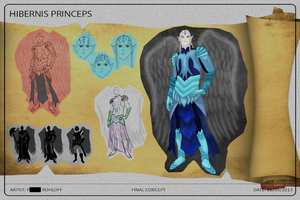 'Hibernis Princeps' Character Concept by prohloff