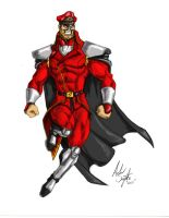 M. Bison design by soysaurus1