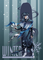 Concept Art: Winter by flightangel