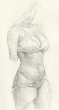 Woman Thang by richterfineart