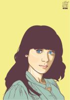 Zooey Deschanel by warlock1291