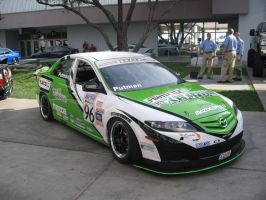 Mazda A6 customized for racing by reika7
