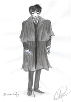 Barnabas Collins by DemonCartoonist