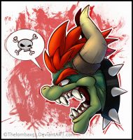 Giga Bowser's Rage :Headshot: by RatchetMario