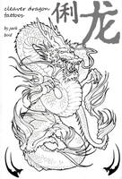 clever dragon tattoos magazine cover by gallows70