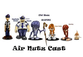 Air Nuts Cast by Irichimaru
