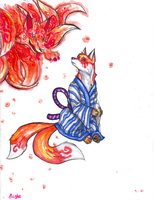 Fox Tails by CloudyKasumi