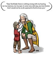 LotR/S: The Tale of Glorfindel, the Balrog-Slayer by Houkakyou