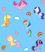 MLP Background by Love-Like-Nicole