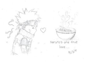 Naruto's one true love by Sookybabi