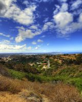 San Diego from Mt. Soledad by chaos5