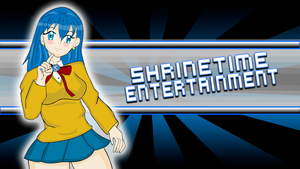 Shrinetime Entertainment mascot with logo by MikeMaverick