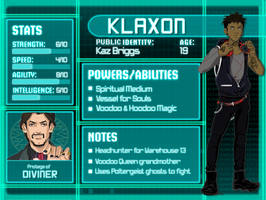 DC OC - Klaxon Card by hlwar