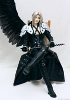 Sephiroth: proud of himself 02 by scargeear