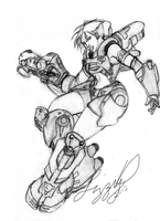 Firefall Assault Fighter by Ihha