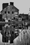 Old Mill BW by 1shotaway