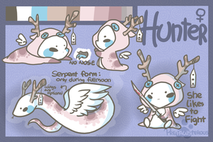 :Hunter Reference Sheet: by PrePAWSterous