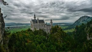 Neuschwanstein by RootDwarf
