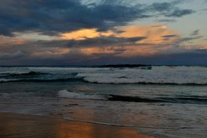 Wamberal sunset 2 by wildplaces