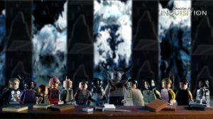 LEGO Dragon Age: Inquisition Wallpaper by ChefUgluk