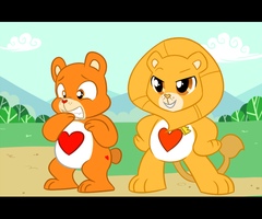 Care Bears: Brave Heart and Tenderheart by Jiayi