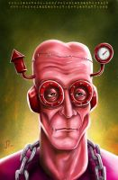Frankenberry - Oct 4th '13 Art Jam by JeremiahLambertArt