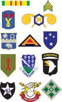 Army Patches by L-Designs