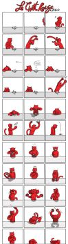 Le chat rouge I by Zatona