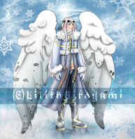 Angel of Winter Adoptable 8D!! (TAKEN) by LilithGiroyami