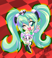 20130812 - Racing Miku 2012 by keitenstudio