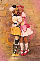Mami and Madoka - Safe With Me by Lovemaniac