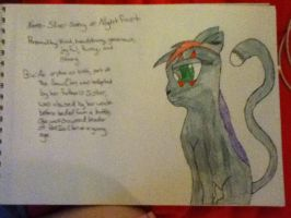 Silversong/Nightfrost by CaitlinTheLucario