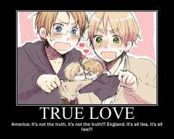 UsUk True love by hetalia777777