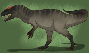 Allosaurus by Vox-Morda
