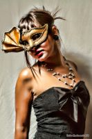Masked Girl 58 by Evandar