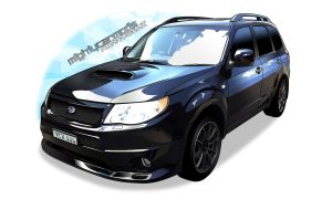 Mighty Car Mods Moog's Forester XT by djSeragaki