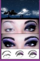 new moon eye shadow by ynocencia