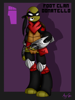 Foot Clan - Donatello by AngGrc